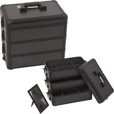 Just Case Usa Inc. Sunrise E3303PPAB All Black Pro Makeup Case
