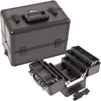 Just Case Usa Inc. Sunrise E3304PPAB All Black Pro Makeup Case