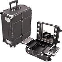 Just Case Usa Inc. Sunrise Pro Makeup Studio Cosmetic Desktop Case w/Light - C6202