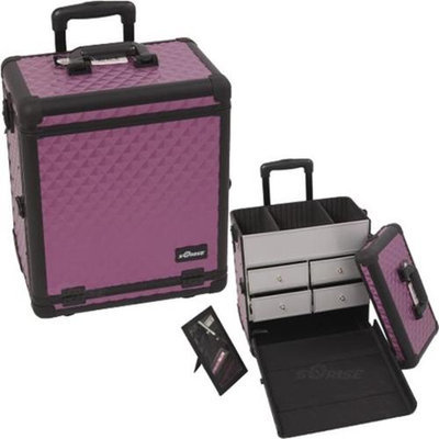 Just Case Usa Inc. Sunrise E6302DMPLB Purple, Black Diamond Sp Drawer Tl Case