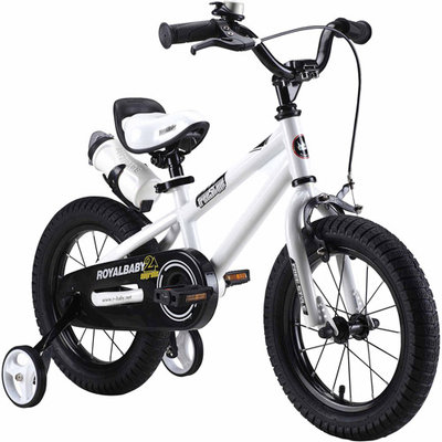 Royalbaby Freestyle 12-in. Bike - Kids (White)