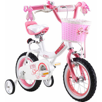 Royalbaby Jenny Pink 12-inch Kids Bicycle