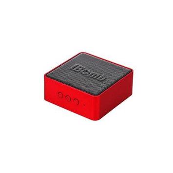 iBomb BT-EX500-RD 3 W Cube Mini Haut Parleur Bluetooth Wireless Speaker Red