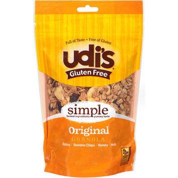 Udis Udi's Gluten Free Original Granola, 12 oz