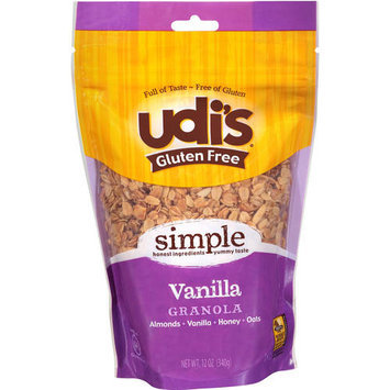 Udis Udi's Gluten Free Vanilla Granola, 12 oz