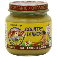 Earth's Best Organic® Beef, Carrots & Corn Baby Food