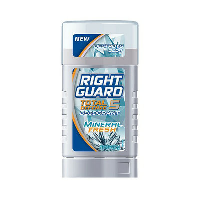 Right Guard Total Defense 5 Power Deodorant Solid Mineral Fresh