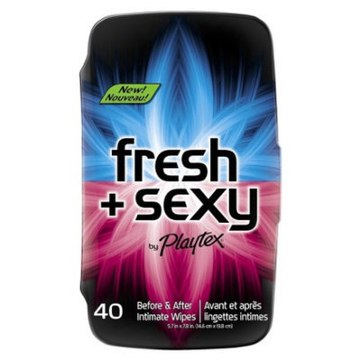 Fresh + Sexy Wipes by Playtex Fresh + Sexy Intimate Wipes