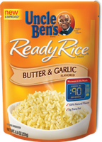 Uncle Ben's Butter and Garlic Ready Rice