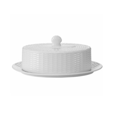Wedgwood Dinnerware, Nantucket Basket Covered Butter Dish