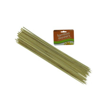 Bulk Buys Long bamboo skewers - Pack of 36