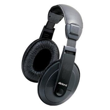 Inland Multimedia Headphones, Black