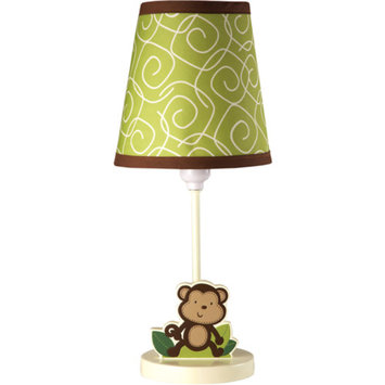 Little Bedding by NoJo - Jungle Time Lamp