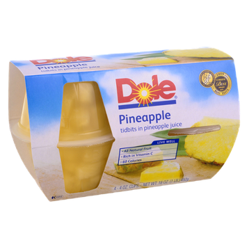 Dole Pineapple Tidbits in Pineapple Juice