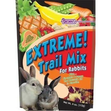 Fm Browns Sons Inc Fm Brown's SBN44594 Rabbit Extreme Trail Mix Treat, 4-Ounce