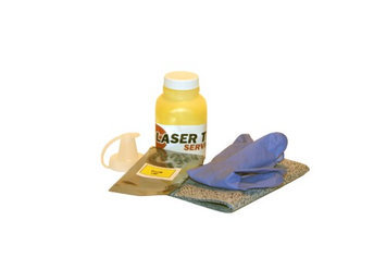 Laser Tek Services Yellow Toner Refill Kit with reset chip for the Xerox Phaser 6125