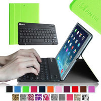 Fintie SmartShell Cover with Wireless Bluetooth Keyboard Case for Apple iPad Air / iPad 5 (5th Generation), Green