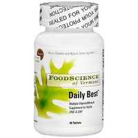 FoodScience of Vermont Daily Best Multiple Vitamin/Mineral Tablets