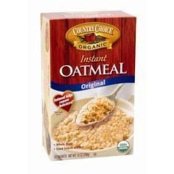 Country Choice Organic Instant Regular Oatmeal, Size: 10/1 Oz (Pack of 6)