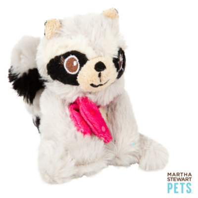 Martha Stewart PetsA Plush Raccoon Dog Toy