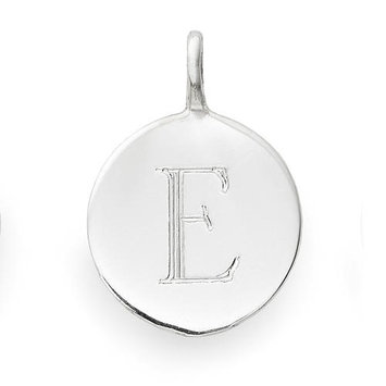 Sarah Chloe Sterling Silver Engraved E Add On