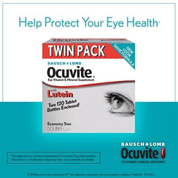 Bausch & Lomb Bausch + Lomb Ocuvite Eye Vitamin & Mineral Supplement with Lutein - 240 Tablets