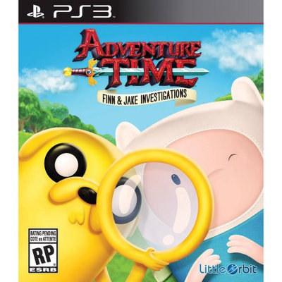 Little Orbit Adventure Time Finn and Jake Investigations (PlayStation 3)