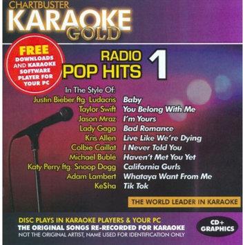 Chartbuster Karaoke Karaoke - Karaoke Gold: Radio Pop Hits 1
