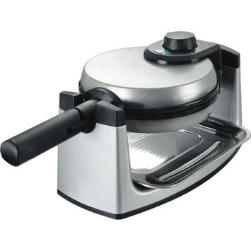 Kalorik Rotary Belgian Waffle Maker, Stainless Steel, 1 ea
