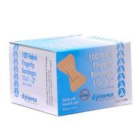 Dynarex Adhesive Bandage, Fabric Fingertip 1.75