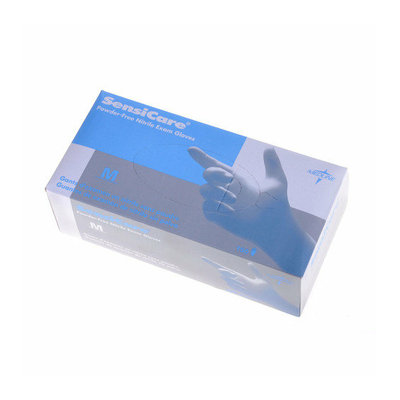 Medline SensiCare Non-Sterile Powder-Free Exam Glove