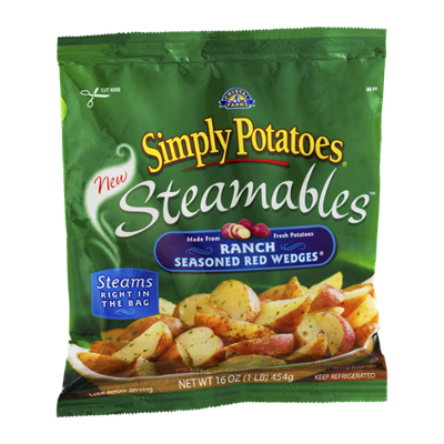 Simply Potatoes Steamables Ranch Seasoned Red Wedges