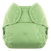 Blueberry Coveralls Diaper Snap, Meadow Green
