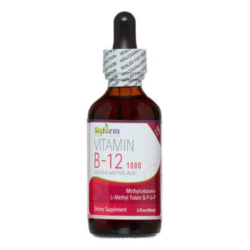 Vitamin B12 1,000 Sigform 2 oz Liquid