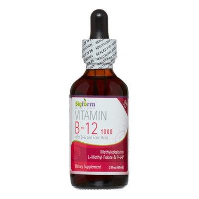 Vitamin B12 1,000 Sigform 2 oz Liquid