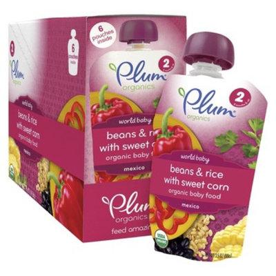 Plum Organics - World Baby Beans & Rice with Sweet Corn - 3.5oz (6