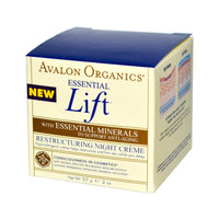 Avalon Organics Essential Lift Restructuring Night Creme