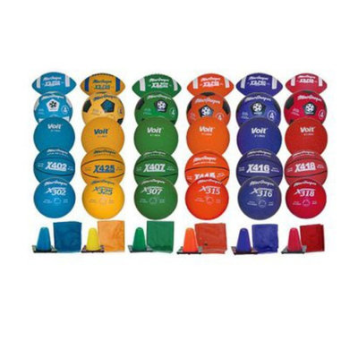 Sport Supply Group Inc Sports Equipment 6-Color Pack