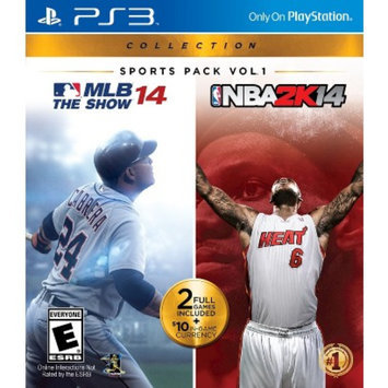 Sony Sports Pack Vol.1: MLB 14: The Show and NBA2K14 Collection