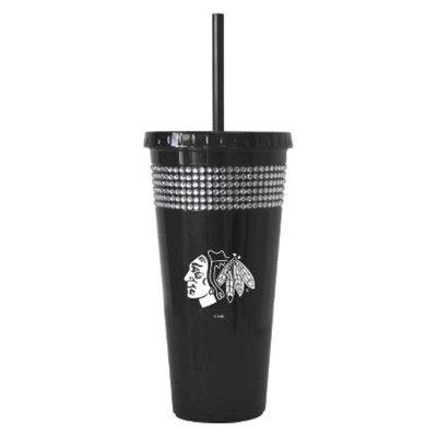 Boelter Brands NHL 2 Pack Chicago Blackhawks Bling Straw Tumbler -