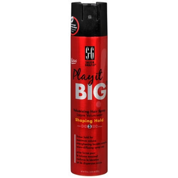 Salon Grafix Play It Big Shaping Hair Spray, 10 oz