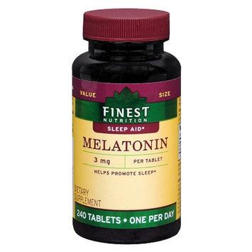 Finest Nutrition Melatonin 3mg Tablets
