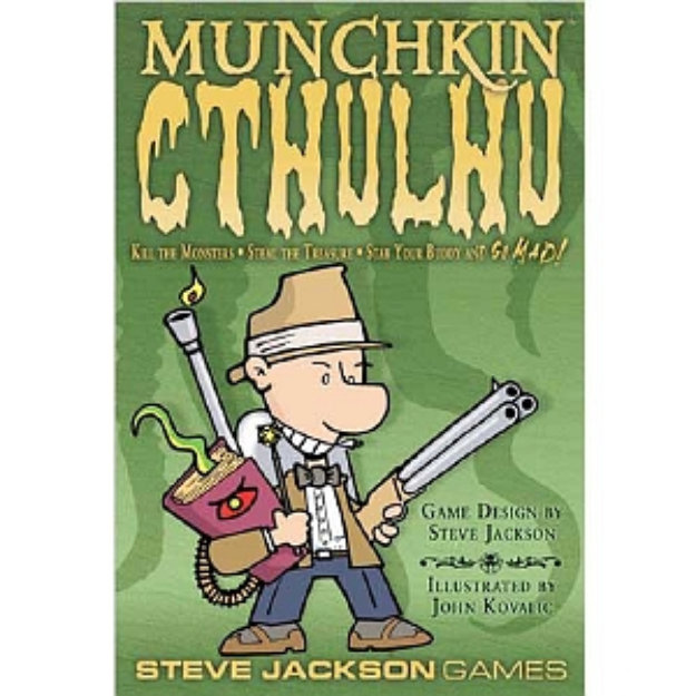 Munchkin Cthulhu Card Game Ages 12 and up, 1 ea
