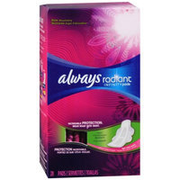 Always Radiant Infinity Pads with Flexi-Wings