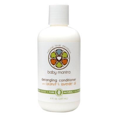 Baby Mantra Detangling Conditioner with Coconut & Lavender Oil, 8 fl oz