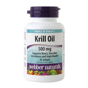 Webber Naturals Krill Oil 500mg, Softgels