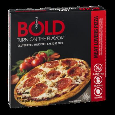Bold Organics Gluten Free Pizza Meat Lovers