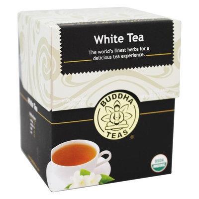 Buddha Teas White 100 Percent Organic Herbal Tea 18 Bags Per Packet