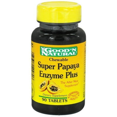 Good'n Natural Good 'N Natural - Chewable Enzyme Plus Super Papaya - 90 Tablets