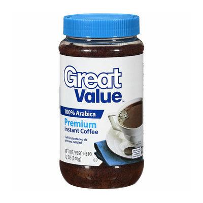 Great Value Premium 100% Arabica Instant Coffee